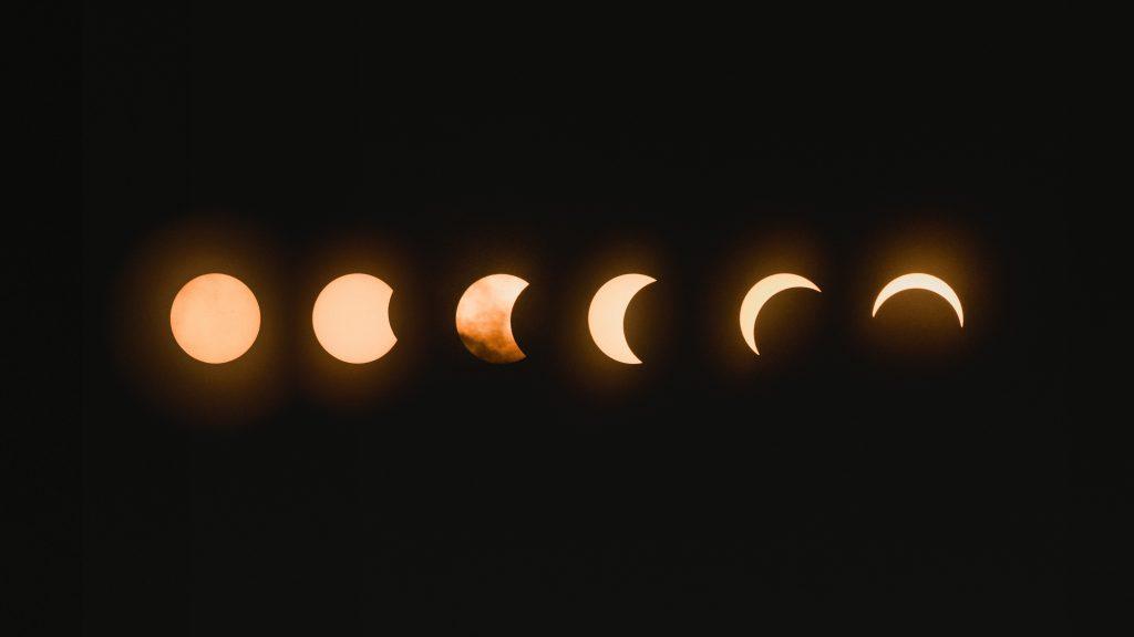 Les différents cycles lunaire
