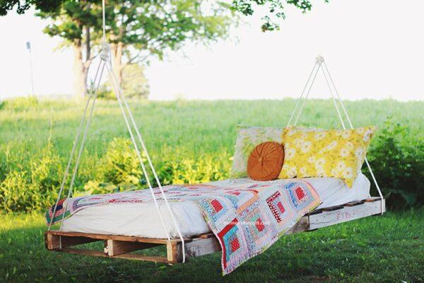 Déco Palette Jardin : 10 Idées Géniales à petit prix [+Mode d'emploi]