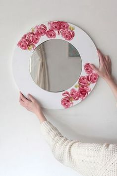 espejo decoupage blog homy