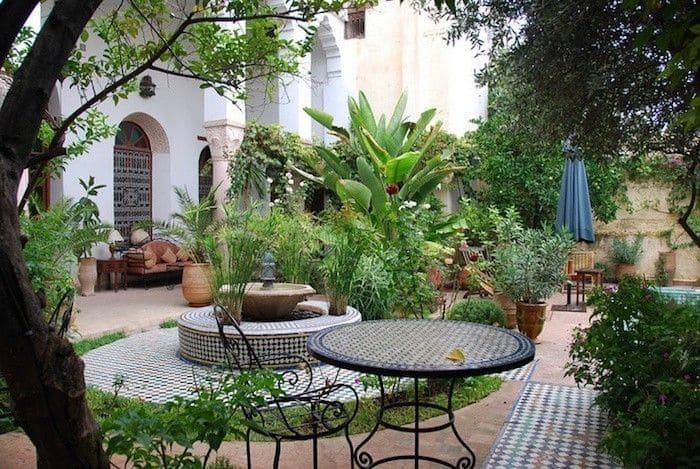 art du jardin islam