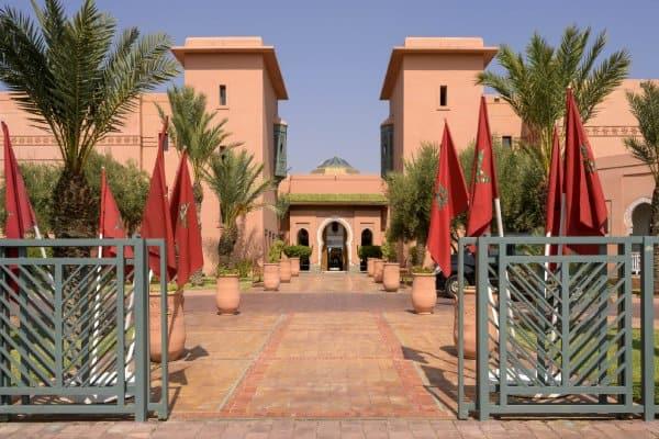 Les jardins d'agdal à Marrakech au Maroc