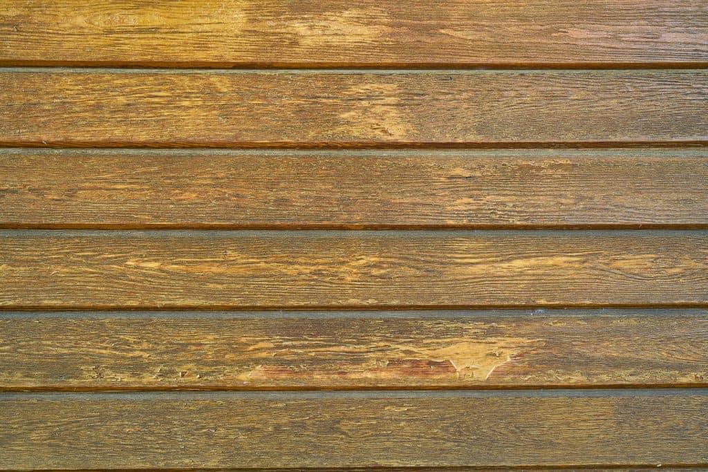 planches en bois marron
